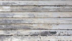 Vecchio raccordo di legno del bordo Fotografia Stock