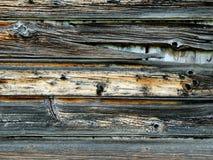 Vecchio raccordo di legno stagionato Immagini Stock