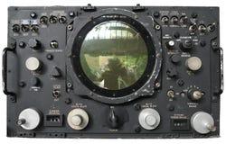 Vecchio radar Fotografie Stock Libere da Diritti