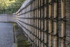 Vecchio recinti il Giappone Fotografie Stock Libere da Diritti