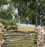 Vecchio recinto. Fotografia Stock Libera da Diritti