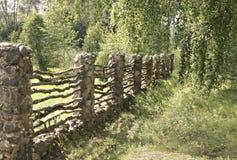 Vecchio recinto. Fotografia Stock