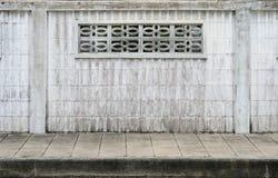 Vecchio recinto concreto Immagini Stock Libere da Diritti