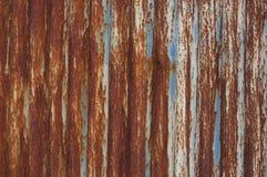 Vecchio recinto del metallo Fotografie Stock Libere da Diritti