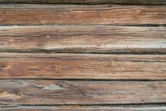 Vecchio recinto di legno giallo, fondo di legno di struttura fotografia stock libera da diritti