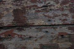 Vecchio recinto fatto di legno Fotografie Stock