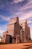 Vecchio recipiente del grano Fotografie Stock Libere da Diritti