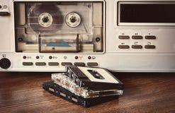 Vecchio registratore a cassetta fotografie stock libere da diritti