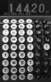 Vecchio registratore di cassa Fotografie Stock