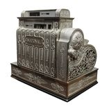 Vecchio registratore di cassa Immagine Stock