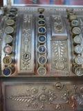 Vecchio registratore di cassa Fotografie Stock Libere da Diritti