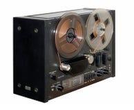 Vecchio registratore di nastro della bobina Fotografia Stock