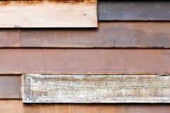 Vecchio reticolo di legno Fotografia Stock Libera da Diritti