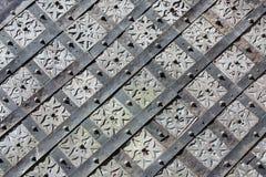 Vecchio, reticolo medioevale Fotografie Stock