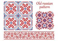 Vecchio reticolo russo. Fotografia Stock