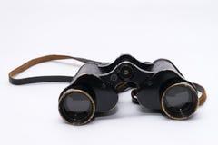 Vecchio retro binoculare Fotografie Stock Libere da Diritti