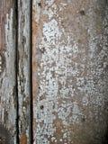 Vecchio retro fondo di legno astratto con le crepe Immagine Stock Libera da Diritti