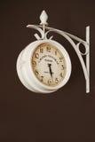 Vecchio retro orologio Fotografie Stock