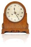 Vecchio retro orologio Fotografia Stock