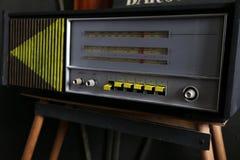 Vecchio retro stile radiofonico fotografia stock