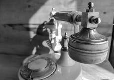 Vecchio retro telefono fotografia stock libera da diritti