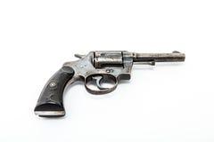 Vecchio revolver Immagine Stock Libera da Diritti