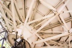 Vecchio riflettore parabolico Fotografia Stock