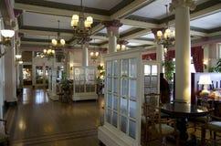 Vecchio ristorante operato Immagine Stock