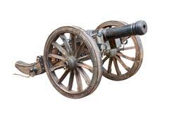 Vecchio ritaglio del cannone Immagine Stock Libera da Diritti