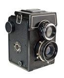 Vecchio ritaglio della macchina fotografica della pellicola Fotografie Stock