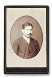 Vecchio ritratto di un uomo. Immagine Stock Libera da Diritti