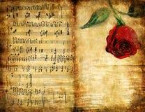 Vecchio romance Immagine Stock
