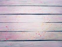 Vecchio rosa di legno di struttura Immagini Stock