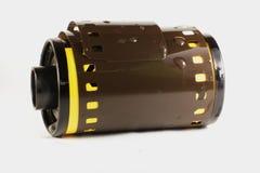 Vecchio rotolo 35mm della macchina fotografica Fotografie Stock Libere da Diritti