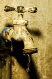 Vecchio rubinetto Fotografia Stock Libera da Diritti