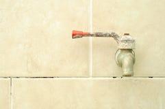 Vecchio rubinetto Fotografie Stock Libere da Diritti