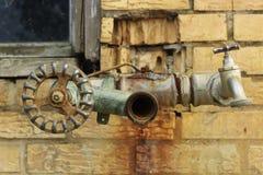 Vecchio rubinetto Immagini Stock Libere da Diritti