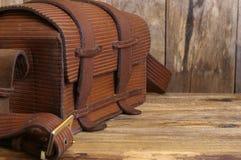 Vecchio sacchetto Fotografia Stock
