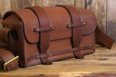 Vecchio sacchetto Fotografia Stock Libera da Diritti