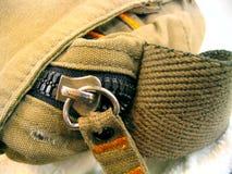Vecchio sacchetto del messaggero Fotografia Stock Libera da Diritti