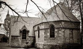 Vecchio sagrato, Zinnik, Belgio Immagini Stock Libere da Diritti