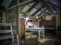 Vecchio salone del minetown Immagini Stock