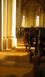Vecchio santuario della chiesa Fotografie Stock Libere da Diritti