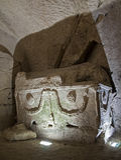 Vecchio sarcofago Fotografia Stock