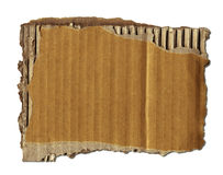 Vecchio scarto del cartone Immagine Stock