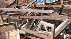 Vecchio scarto del ferro fotografie stock