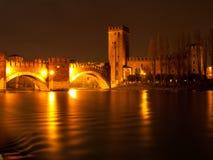 Vecchio-Schloss in Verona Stockbild