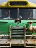 Vecchio scuolabus immagine stock libera da diritti