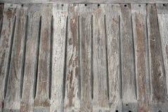Vecchio sedile di banco di legno Fotografia Stock Libera da Diritti