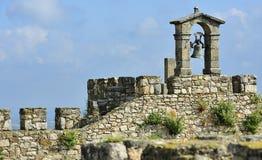 Vecchio segnalatore acustico al castello di Trujillo Immagine Stock